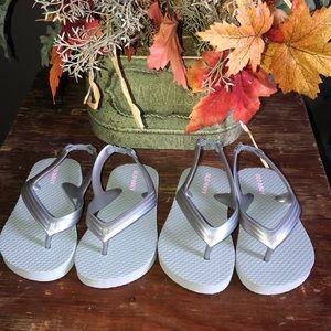 Twin Set Flip Flops